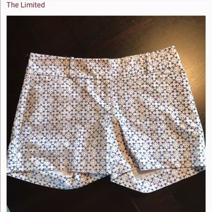 The Limited cotton printed shorts